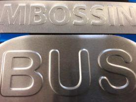 Embossed Nameplates